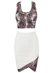 abstract pattern sleeveless dress abstract pattern crop top dress shop now at http misscircle com