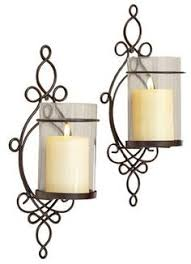 Flameless Candle Wall Sconce Set 2 Amazon Com Pomeroy Pentaro Candle Holder Sconce Wall Lighting
