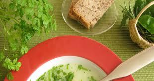 le cerfeuil en cuisine recette potage au cerfeuil
