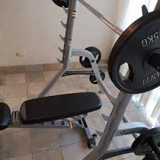 weights squat rack and bench press for rent in paradise point rentzi