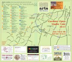 World Of Work Map by Tour Info U2014 Gardiner Open Studio Tour