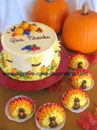image detail for cake decorating tips done for thanksgiving