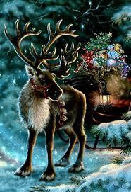 christmas reindeer 117 best christmas reindeer deer images on vintage