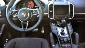 porsche suv interior 2017 2017 porsche cayenne gts first drive review