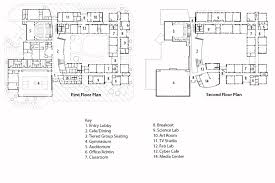 Cafeteria Floor Plan by West Bridgewater Middle Senior High Flansburgh Architects