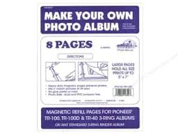 pioneer photo albums refill pages pioneer scrapbook and album refill pages createforless