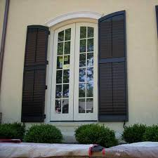 exterior wood shutters home depot amazing exterior shutters 1