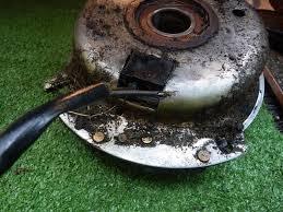 broken pto clutch wire jd717a lawnsite