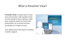 cara membuat power point di netbook how to use presenter view in powerpoint 2007