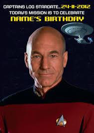 Star Trek Birthday Meme - card invitation design ideas geek birthdays startrek pilot