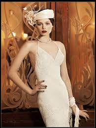 Art Deco Wedding Art Deco Wedding Dress Yolan Cris Milán Deco Weddings