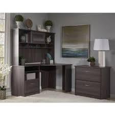corner desk file cabinet