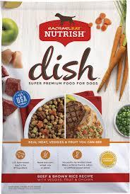 rachael ray nutrish dish natural beef u0026 brown rice recipe dry dog