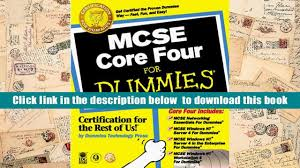 audiobook mcse core four for dummies idg books full book video