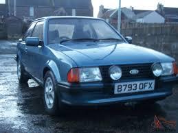 escort mk3 xr3i classic ford series1 old xr3