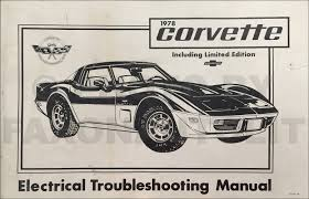 1978 chevy repair shop manual original camaro chevelle el camino