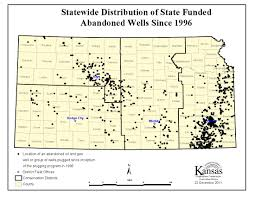 Kcc Map Kansas Corporation Commission Status Of Abandoned Oil U0026 Gas Well