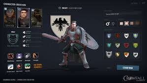 crowfall throne war mmo user interface concepts
