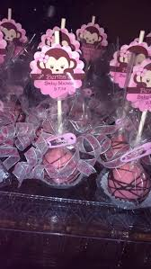 Cake Pop Decorations For Baby Shower 45 Best Monkey Baby Shower U0026 Birthday Party Ideas Images On