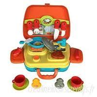 kit cuisine enfants cdelec education puzzle enfants kit médical bébé jouet docteur