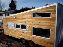 Tumbleweed Tiny Houses For Sale Relaxshacks Com A Modern Cabin Tiny House On Wheels For Sale