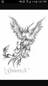51 best phoenix rising tattoo images on pinterest children draw