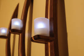 Votive Wall Sconce How To Make A Candle Wall Sconce From Wood