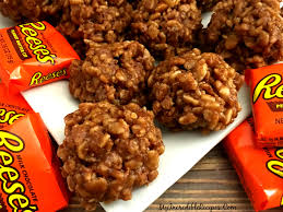 easy thanksgiving cookies no bake reeses krispy cookies