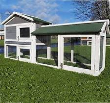 Sale Rabbit Hutches Large Rabbit Hutches Pet Supplies Ebay