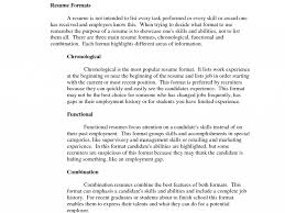 Best Resume Format For Gaps In Employment by Terrific How To Write A Summary For Resume 4 How To Write A