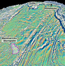 Himilayas Map Scientists Date Birth Of Himalayas From Newly Discovered Microplate