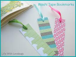washi tape diy washi tape bookmarks life with lovebugs