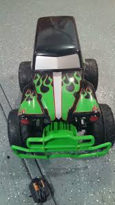 rc grave digger monster truck for sale tyco r c 7 2v 1 6 2003 grave digger monster truck new battery u0027s a