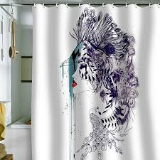 Designer Shower Curtain Refreshing Shower Curtain Designs For The Modern Bath Home Design