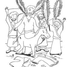 palm sunday coloring pages coloring page palm sunday in coloring