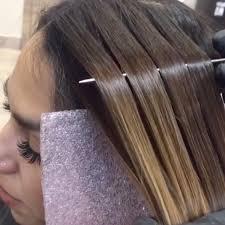 the latest hair colour techniques close up hair painting color technique videos from paintedhair