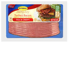 butterball cooked turkey butterball fully cooked thin crispy turkey bacon 6 oz meijer