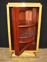 art deco drinks cabinet an art deco maple and walnut demi lune drinks cabinet fitted with
