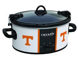 amazon com crock pot tennessee volunteers collegiate 6 quart cook