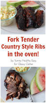 fork tender country style ribs and coleslaw recipe classy clutter