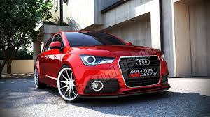 audi a1 model car front splitter audi a1 preface model a1 8x audi kits
