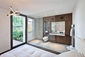 bathroom in bedroom ideas 17 open living spaces that blur the line between bedroom and bathroom