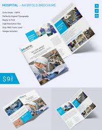 brochure template indesign free bi fold brochure template indesign beautiful hospital a4 bi fold
