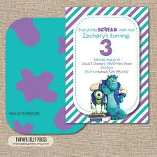 25 monsters university invitations ideas