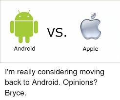 android to apple 25 best memes about android vs apple android vs apple memes