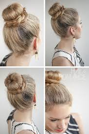 hairstyles with a hair donut hair romance 30 buns in 30 days day 11 the donut bun and b