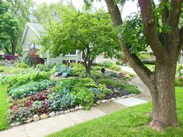 astonishing picture of garden landscaping decoration using white