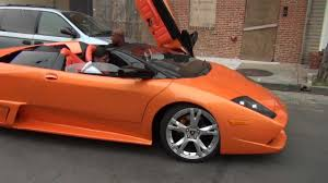 replica lamborghini vs real replica lamborghini murcielago in baltimore youtube