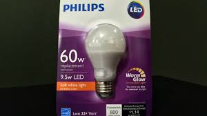 quick review philips 60 watt equivalent soft white led light bulb