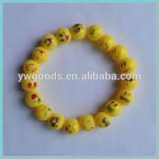 bead bracelet styles images 30 styles of 10mm emoji beads plastic emoji beads bracelet buy jpg